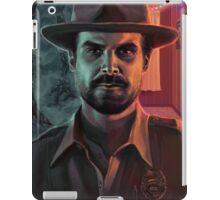 Chief Hopper iPad Case/Skin