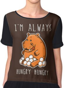 Always Hungry Chiffon Top