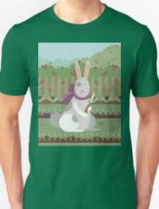 rabbit with a carrot Unisex T-Shirt
