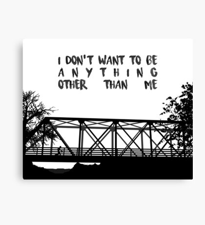 I Don't Want To Be - ONE TREE HILL Canvas Print