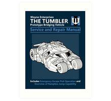Bridging Vehicle Service and Repair Manual Art Print