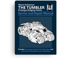Bridging Vehicle Service and Repair Manual Canvas Print
