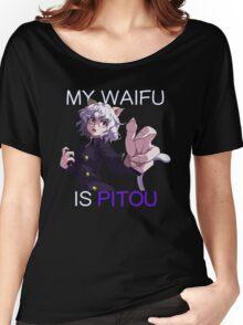 My Waifu Is Pitou Anime Manga Shirt Women's Relaxed Fit T-Shirt