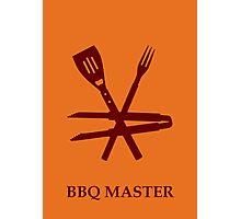 BBQ Master Photographic Print