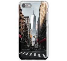 Lower Manhattan One WTC iPhone Case/Skin