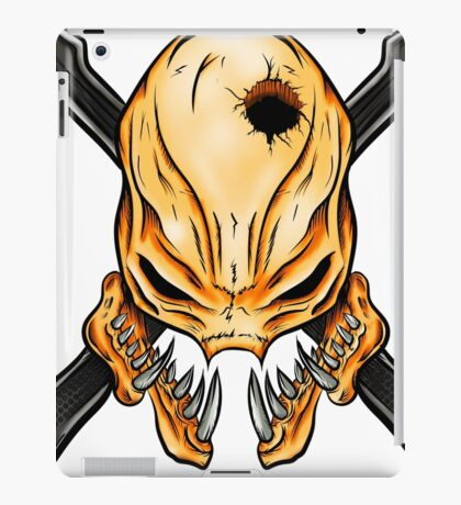 Elite Skull - Halo Legendary Orange iPad Case/Skin