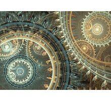 Inside the clock Photographic Print