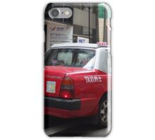 Hong Kong Urban Taxi iPhone Case/Skin
