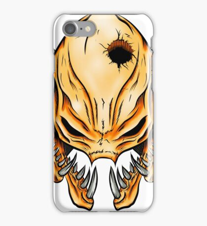 Elite Skull - Halo Legendary Orange iPhone Case/Skin
