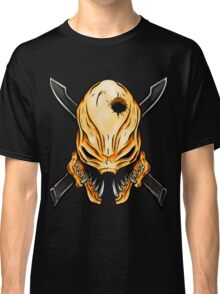 Elite Skull - Halo Legendary Orange Classic T-Shirt