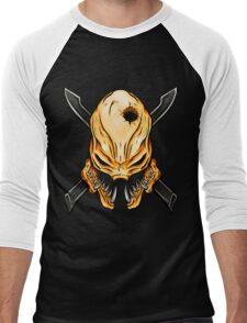 Elite Skull - Halo Legendary Orange Men's Baseball ¾ T-Shirt