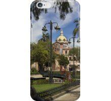 San Blas Park, Cuenca, Ecuador iPhone Case/Skin