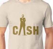 gold silhouette art the legend Unisex T-Shirt