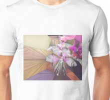 stained-glass flower Unisex T-Shirt