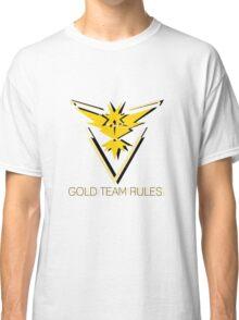 Team Instinct - Gold Team Rules Classic T-Shirt