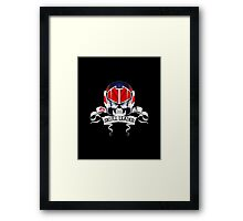 Skull Leader Framed Print