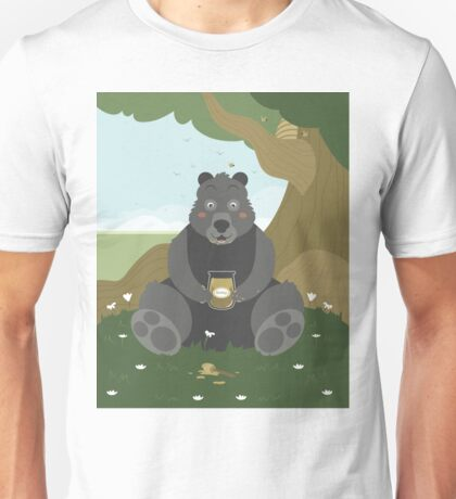 Bear with a jar of honey Unisex T-Shirt