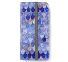 SUMMER MERMAID ROYAL BLUE iPhone Wallet/Case/Skin