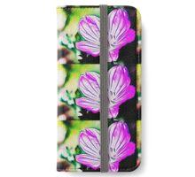 pink flowers iPhone Wallet/Case/Skin