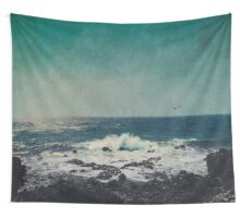 Emerald Ocean Wall Tapestry
