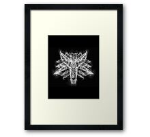 Smoky Wolf Framed Print