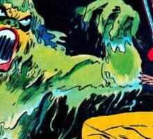 Swamp Sludge Thing attacks Sticker