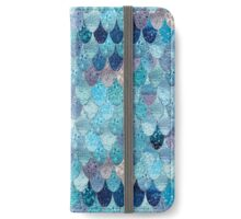 SUMMER MERMAID DARK TEAL iPhone Wallet/Case/Skin