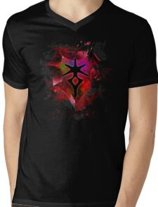 Dark Knight FFXIV - Are you afraid of the Dark? Mens V-Neck T-Shirt