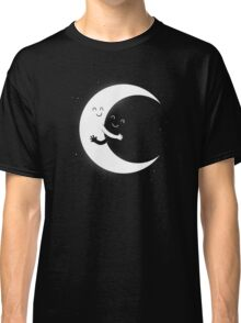 Gifts For Mom - Moon Hug Shirt - Funny Picture T-Shirt Classic T-Shirt