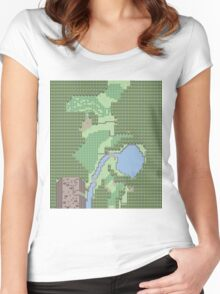 Pokemon Route 1 (Gen 5) Women's Fitted Scoop T-Shirt
