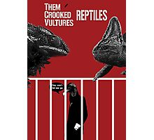 Them Crooked Vultures - Reptiles Photographic Print