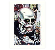 Horrible Evil Undead Ghoul Art Print