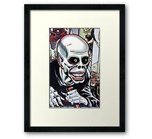 Horrible Evil Undead Ghoul Framed Print