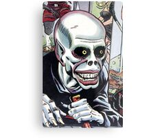 Horrible Evil Undead Ghoul Metal Print