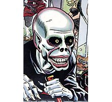 Horrible Evil Undead Ghoul Photographic Print