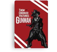 Them Crooked Vultures - Gunman Canvas Print