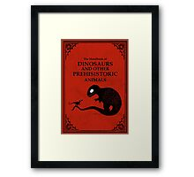 The Handbook Of Dinosaurs And Other Prehistoric Animals Framed Print