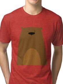 Stumped Bear Tri-blend T-Shirt