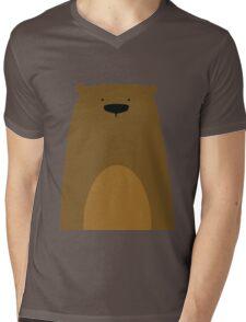 Stumped Bear Mens V-Neck T-Shirt