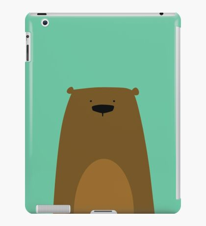 Stumped Bear iPad Case/Skin
