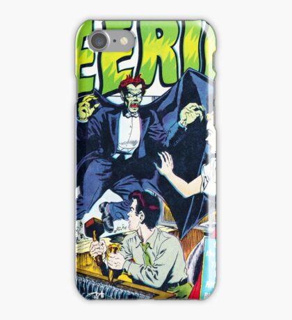 Eerie Vampire Comic Cover iPhone Case/Skin