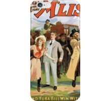 Performing Arts Posters A sumptuous revival of Bret Hartes beautiful story Mliss 1315 iPhone Case/Skin