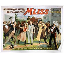 Performing Arts Posters A sumptuous revival of Bret Hartes beautiful story Mliss 1315 Poster