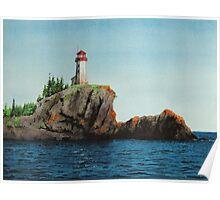 Battle Island Lighthouse Poster