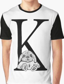 K bunny Graphic T-Shirt