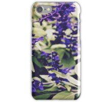 filtered floral iPhone Case/Skin