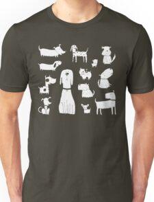 dogs - latte Unisex T-Shirt