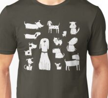 dogs - latte Unisex T-Shirt