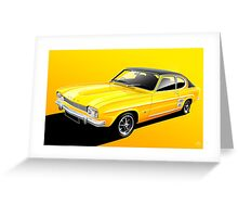 Poster artwork - Ford Capri Greeting Card