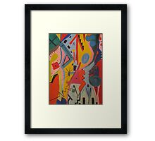 Up Framed Print